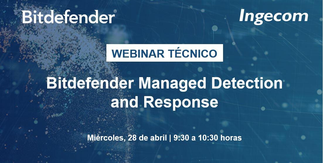 Bitdefender Managed Detection and Response