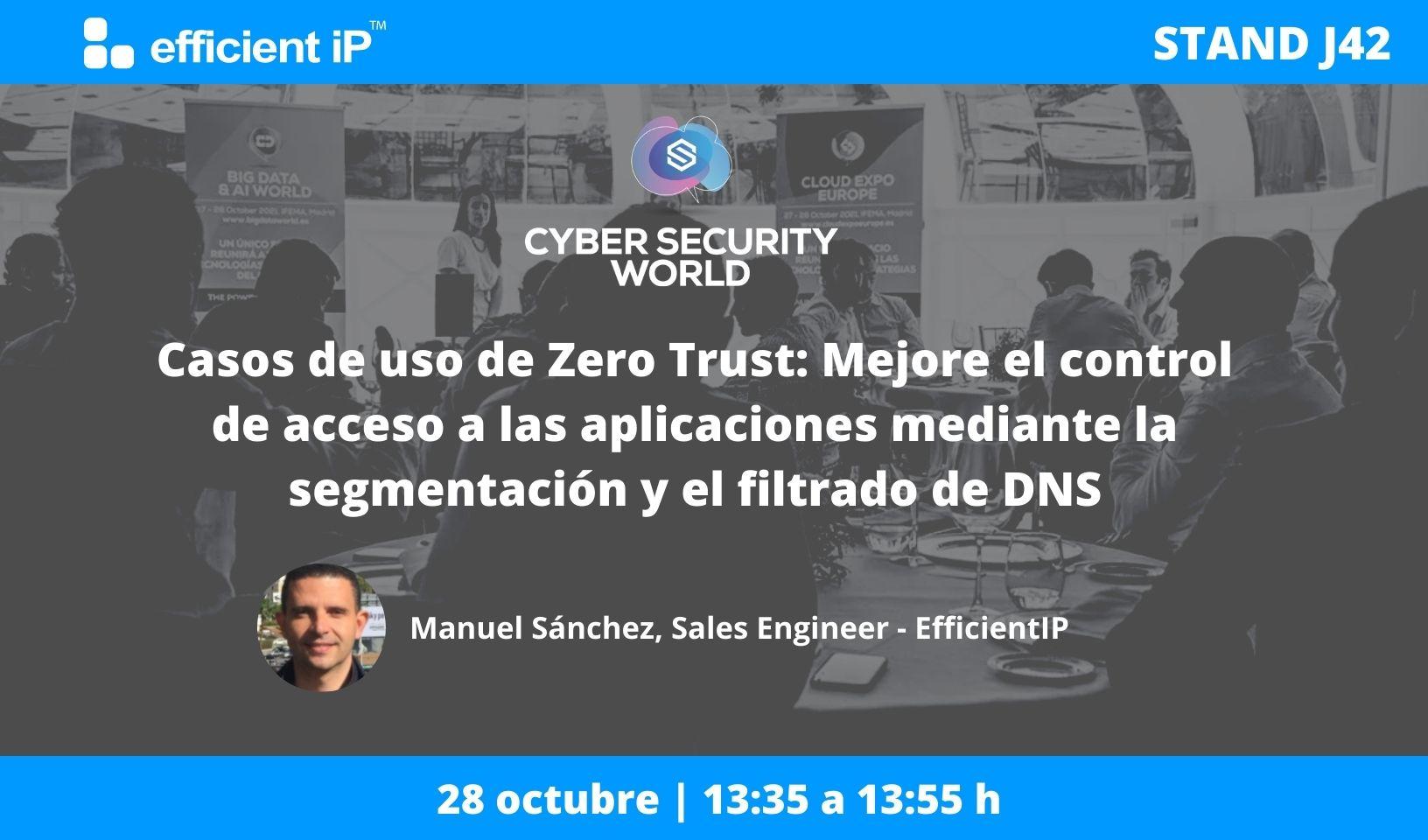 Casos de uso de Zero Trust: Mejore el control de acceso a las aplicaciones mediante la segmentación y el filtrado de DNS