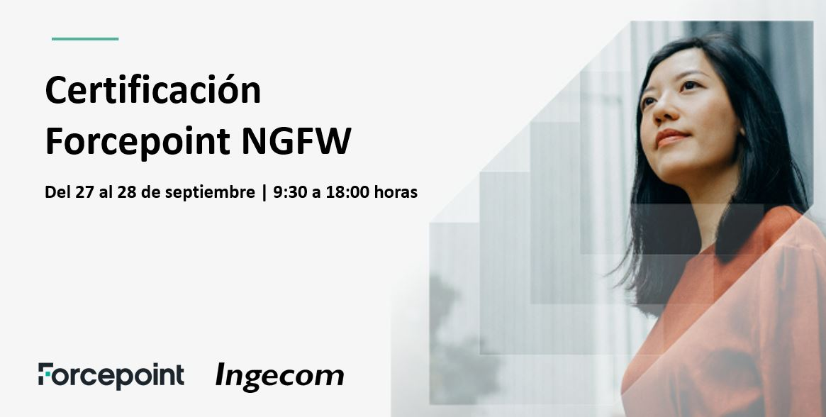 Certificación Oficial Forcepoint NGFW